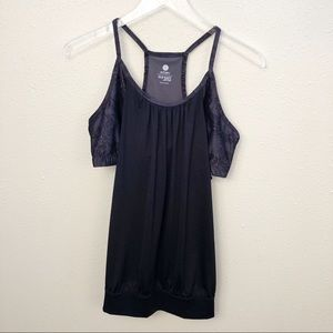 Old Navy Tops - Old Navy Active Loose Black Tank Top Sz L